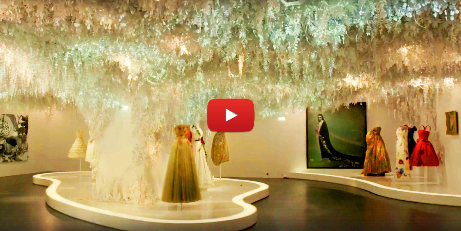 WLTxJAHpvLo - Как сделать подвесной потолок из цветов