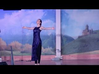 13 августа 2017 -- Танец на воскресном богослужении ЦХС (Анна Руденко)