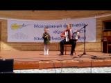Песня Катюша . В исполнении Паниной Варвары и Мазурова Даниила .
