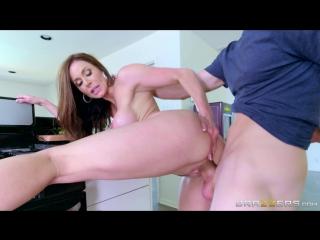 [RealWifeStories.com / Brazzers.com] Kendra Lust (Зрелая мамка изменяет мужу с молодым на кухне) [Big Tits,Brunette,MILF,Wife]