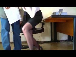Начальник накончал в секретаршу