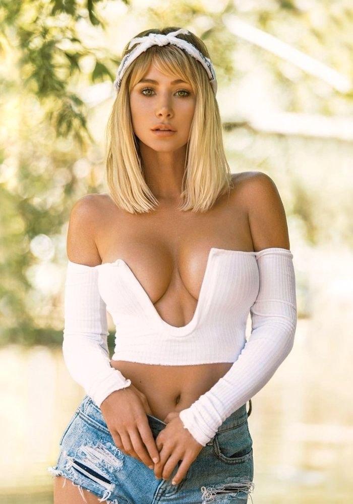 От них невозможно отвести взгляд - фотографии с красивой женской грудью