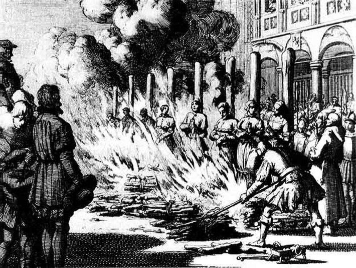 Массовые казни гражданского населения