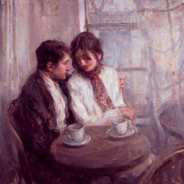 Живопись о нежности. Картины с романтическим содержанием.