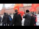 В ЧЕСТЬ ДНЯ РОЖДЕНИЯ СТАЛИНА! Красная площадь - песенный флешмоб IN HONOR OF THE BIRTH OF STALIN!