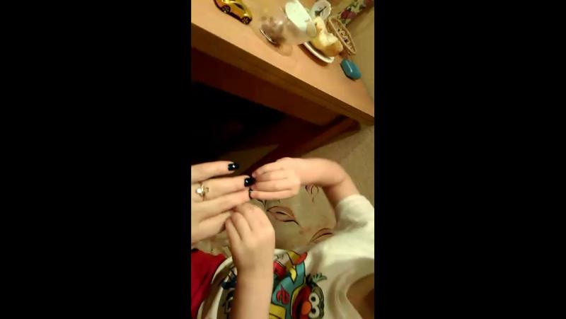 Красивые у мамы ногти? 👶🏻 АГОООНИ! 🔥😂