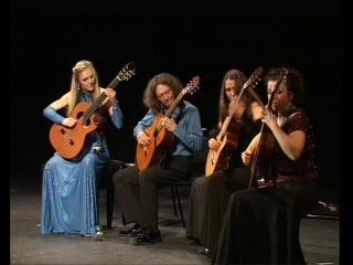 4-tissimo Guitar Quartet. {19-02-10 ТКЗ Дворец на Яузе}. Арам Хачатурян-Танец с саблями