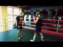 Как работать в клинче по правилам кикбоксинга K 1 Урок кикбоксинга Юрия Караваева