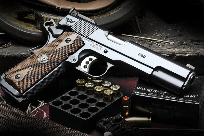 Самые красивые пистолеты Wilson Combat
