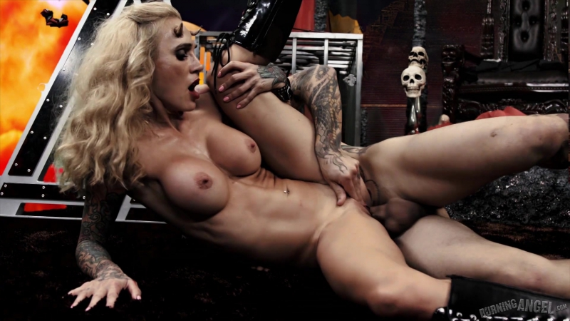Burning Angel Sarah Jessie Cindy Queen of Hell: Part 3 Hardcore, Big Tits, Tattoo, Piercing, Blonde, 69, All