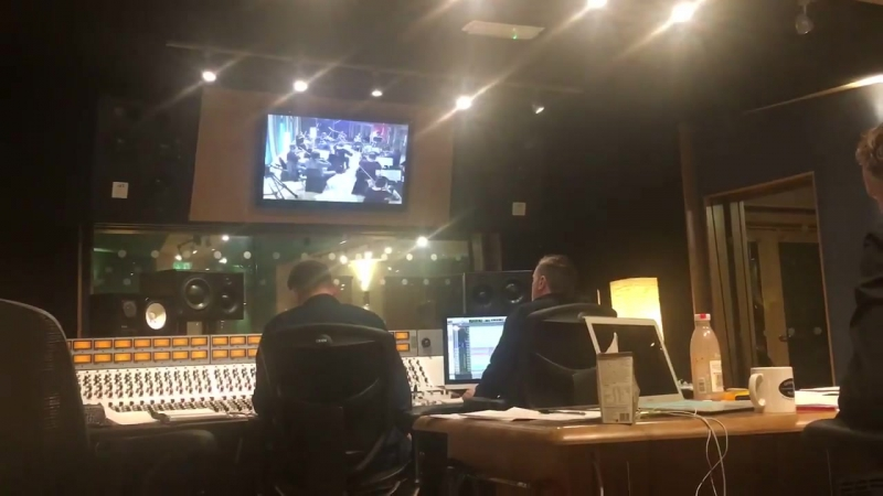 The Bathers String session at Gorbals Sound for new album