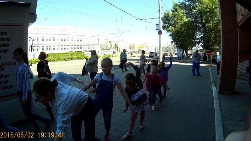 Уличный тренинг группа вторник 8-11 лет