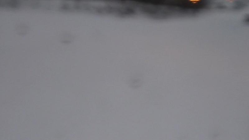 Маша на горных лыжах Красное озеро 03 03 2017