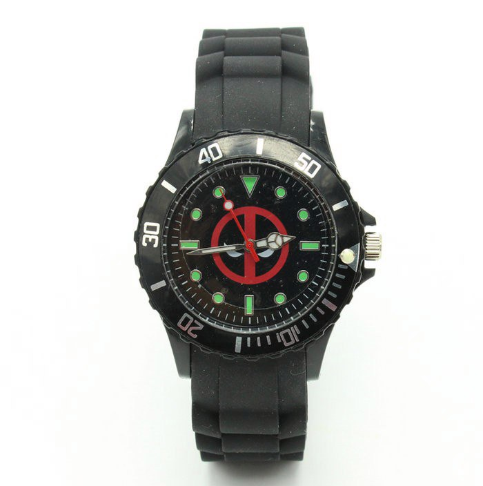 Часы с Deadpool