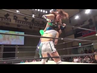 Beautiful Women Wrestling GirlsKay Io Shirai vs Mayu Iwatani