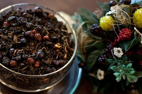 Чай из можжевельника и кедра