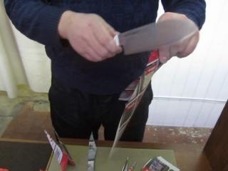 Вторая жизнь кухонного ножа!