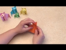 Еasy origami for kids. Оrigami Fox. Origami instructions for kids. Origami for kids step by step