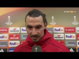 Zlatan Ibrahimovic Post-Match Interview - Manchester United 3-0 Saint Etienne