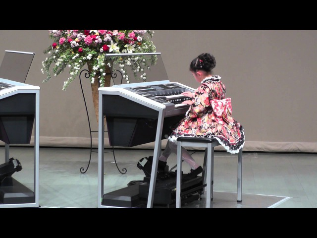 エレクトーン 150322 YAMAHA JEF全店大会 金賞 「大和」(YAMATO) J専3年・小3(8 years old)
