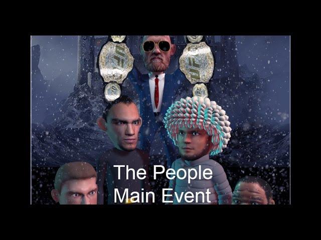 MMA Comedy Animations : The People Main event - Khabib - tony - conor -more
