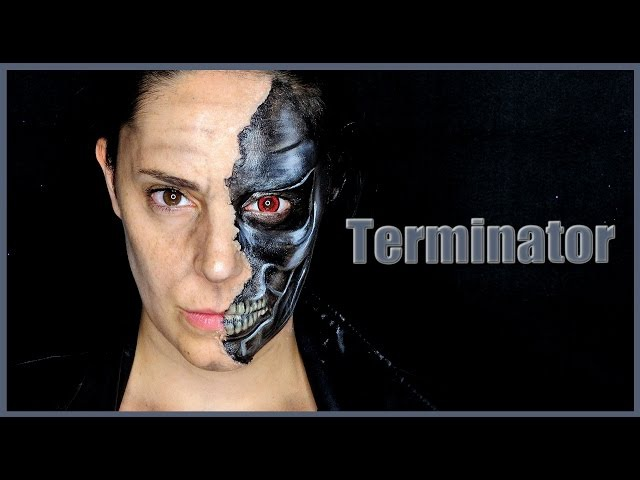 Tutorial Maquillaje Terminator Makeup FX 87 | Silvia Quiros