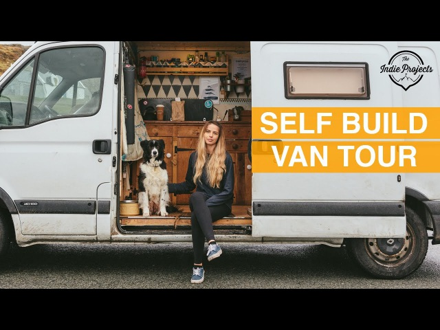 Female uni student saves £1000s a year on rent! (Van Tour)