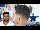 BARBER TUTORIAL : Ezekiel Elliott Low Drop Fade w/ Beard HD !