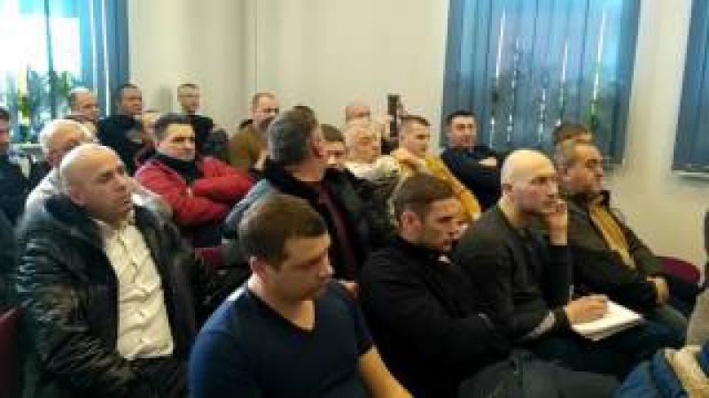 Дерев'янко зустрівся з автомобілістами з 10 областей щодо законопроекту 5567