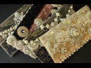 Tutorial Step by Step Wedding Altered Bling DIY Clutches Handbags Purses