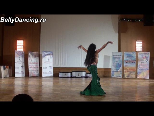 Диана Аджалова. Open Moscow Bellydance 2017
