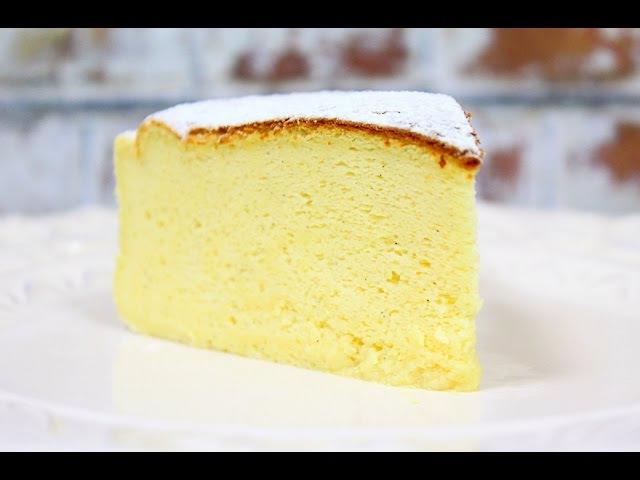 Японский Хлопковый Чизкейк Japanese Cotton Cheesecake