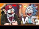 Кино Теория «Рик и Морти» и «Гравити Фолз»! МЕГА КРОССОВЕР