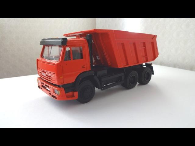 КАМАЗ-65115 (Евро 2) Самосвал - Масштабная модель от неизвестного мастера