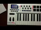 Factory reset M-Audio Axiom Pro 25