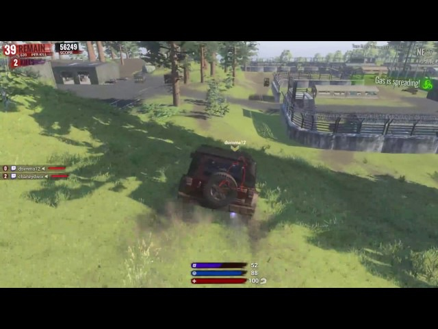 One in a million chance of getting my car stuck in H1Z1