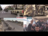 Military reinforcement for Syrian army to wadi barada battle
