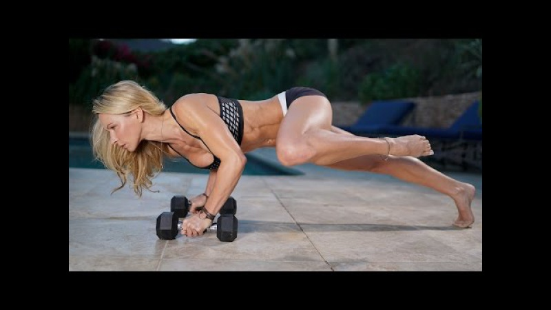 5 Minute Fat Burning Workout 98 - Abs, and Legs, Kettlebell and Sliders