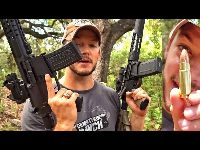 Гигантский патрон .458 SOCOM в AR-15 | Разрушительное ранчо | Перевод Zёбры