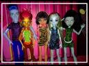 """Набор кукол Монстер Хай """"День выборов"""" (Set of dolls Monster High)"""