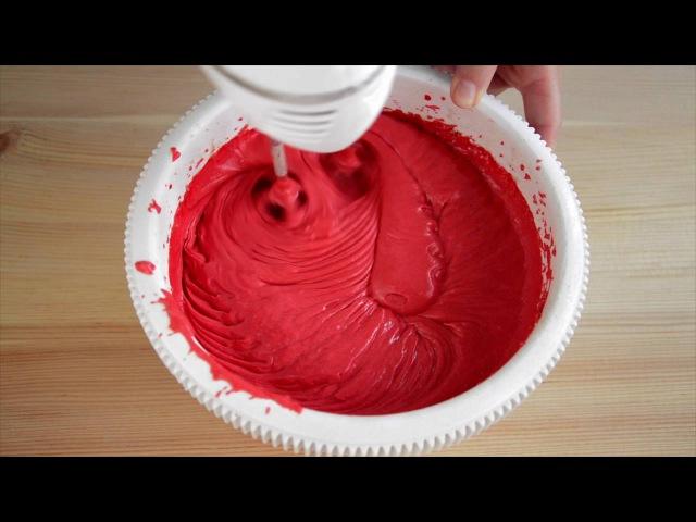 Красный бархат ☆ Red velvet cake