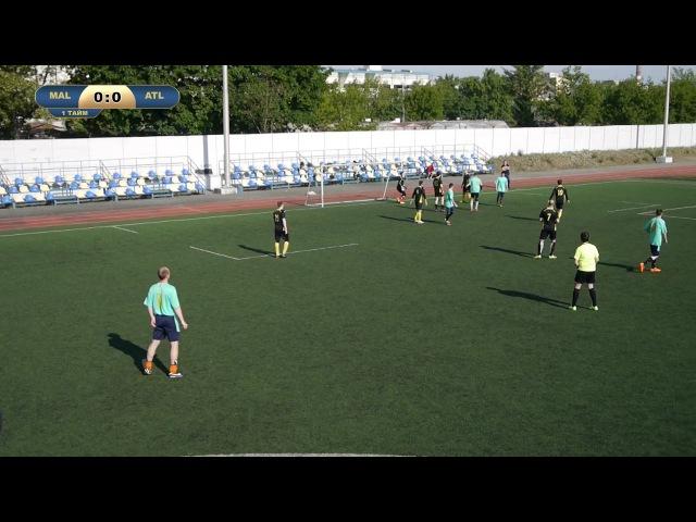 LaLiga 16/17 Malaga - Atletico Madrid 6 тур,21.05.17 (Обзор Киев)
