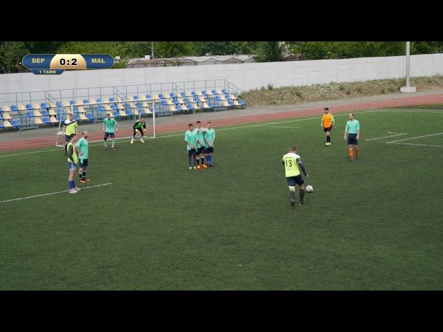 LaLiga 16/17 Deportivo - Malaga 7 тур,21.05.17 (Обзор Киев)