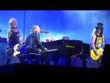 Guns N' Roses Wish You Were Here Pink Floyd November Rain live Coachella, April 23, 2016