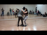 Walter Fernandes &amp Oksana   Ipanema dance studio   Zouk  21.03.17