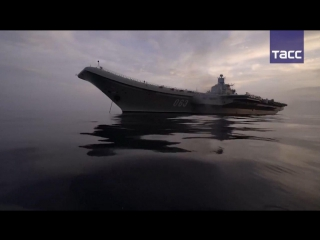 Первый боевой поход авианосца Адмирал Кузнецов
