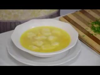Куриный суп с Клецками!