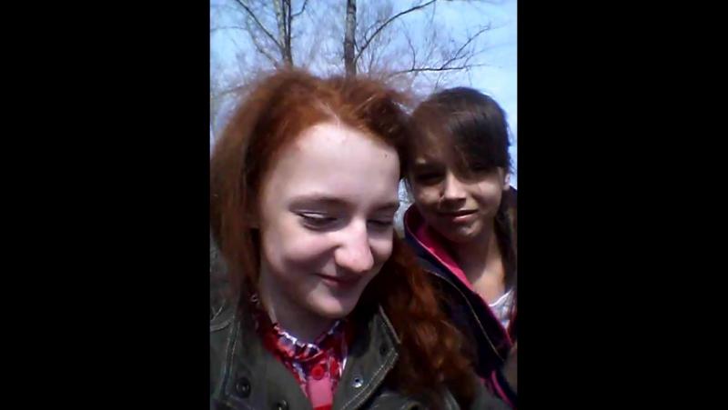 С лучшей подругой Женей ♥