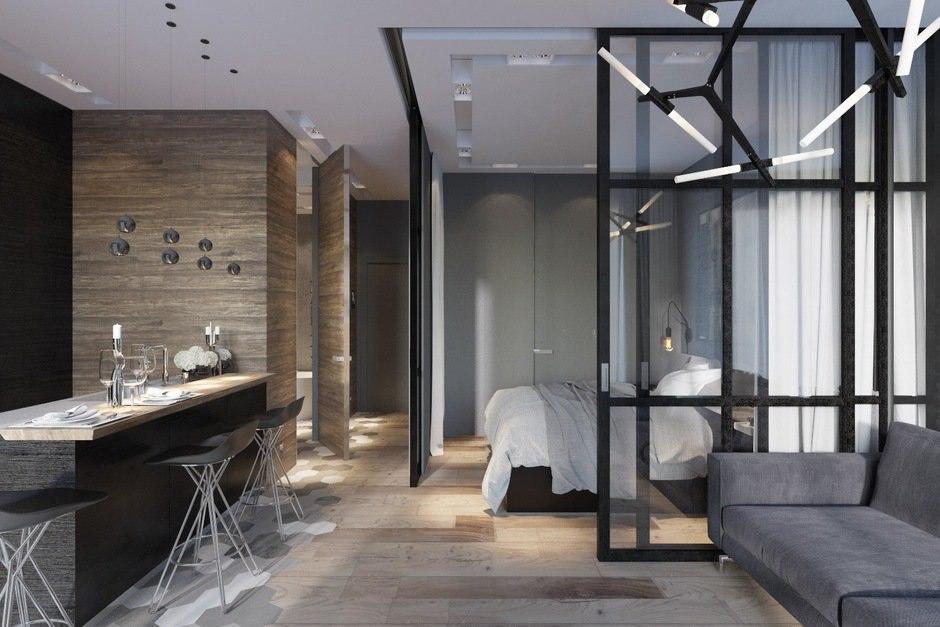 Концепт квартиры почти 38 м.