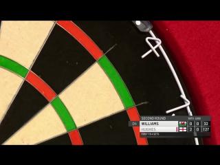Jamie Hughes vs Jim Williams (BDO World Darts Championship 2017 / Round 2)